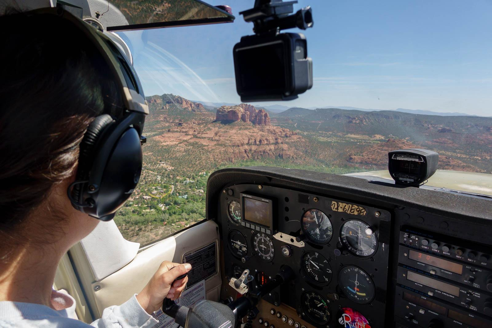 Approach to Sedona, AZ