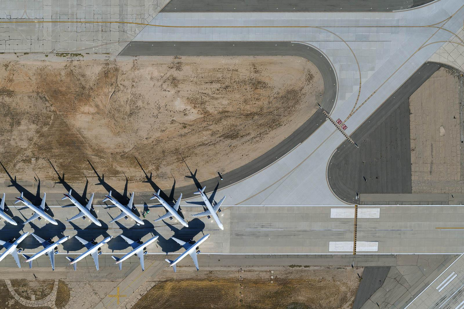 Southern California Logistics airplane storage in Victorville, CA