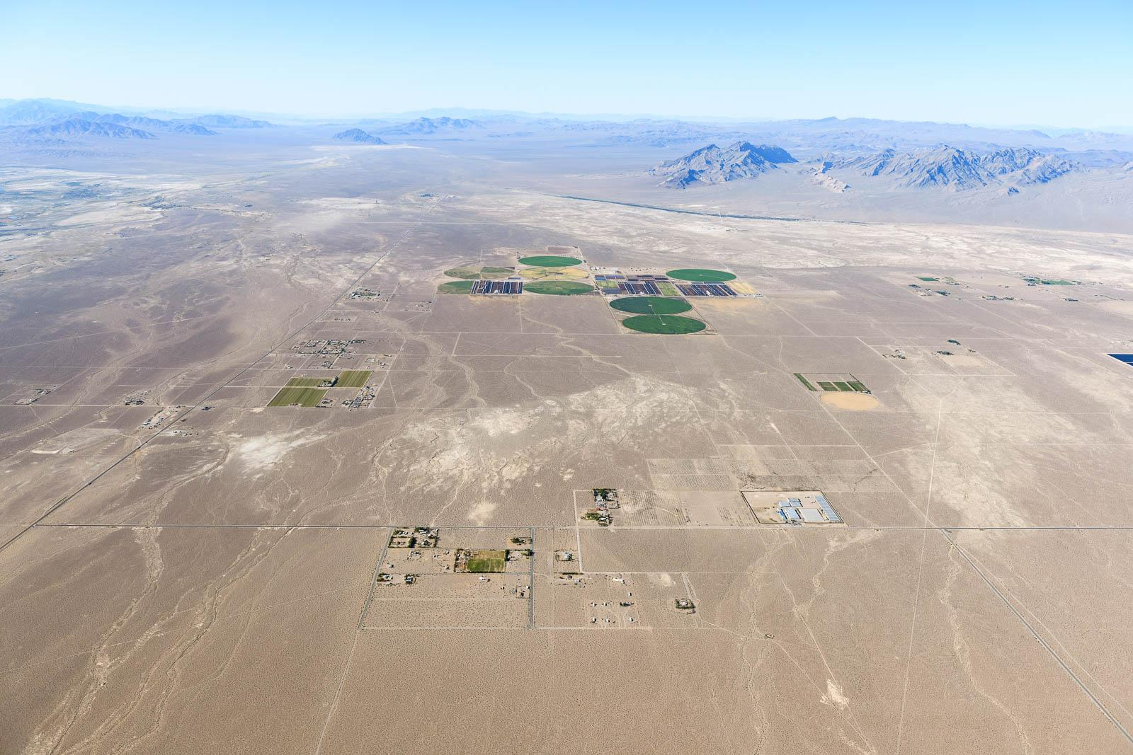 Oasis Farms at California / Nevada Border