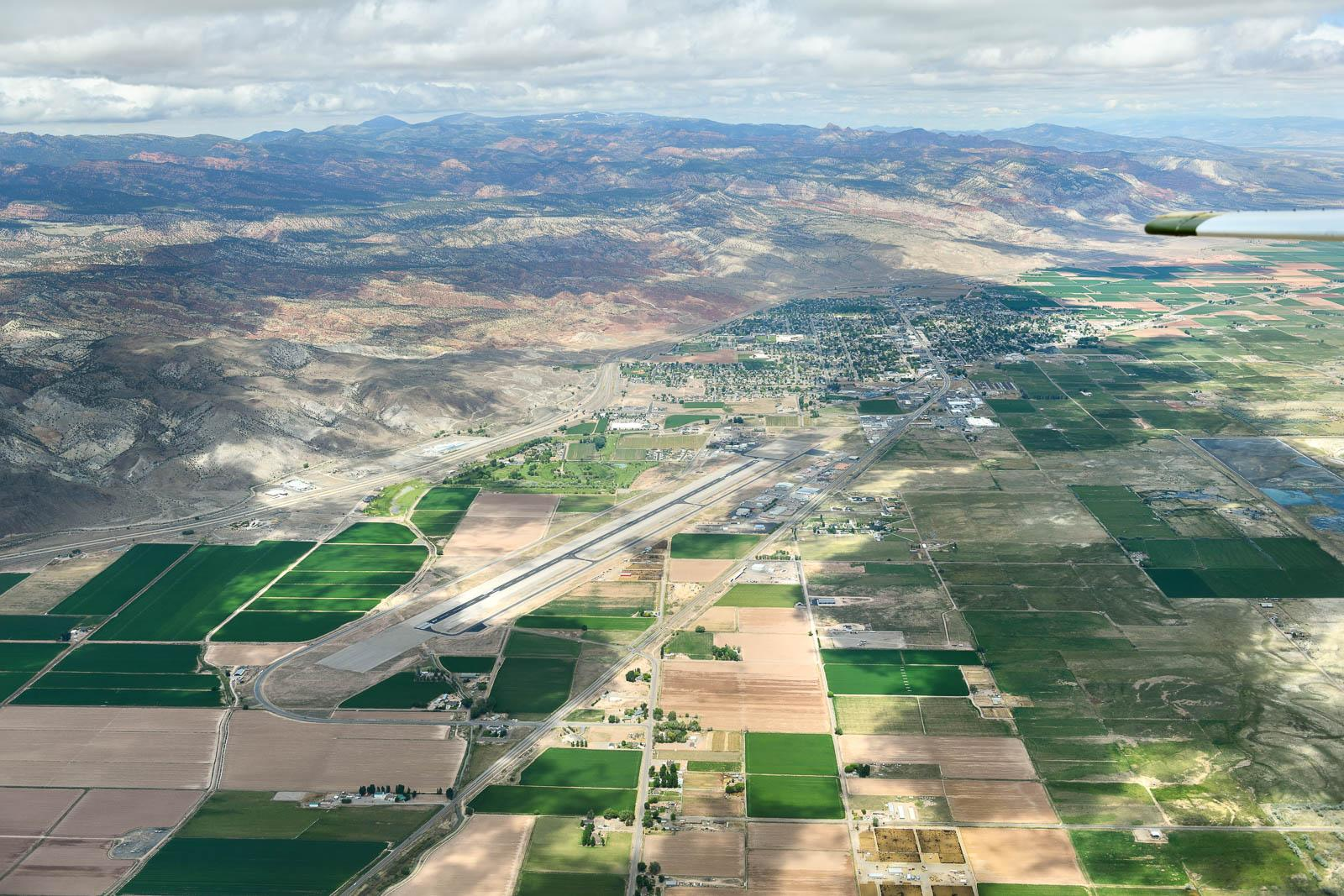 Richfield Airport - place of overnight