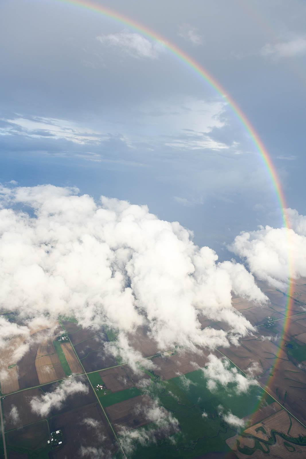 Circular rainbow - wish I had the ways to capture the 360!