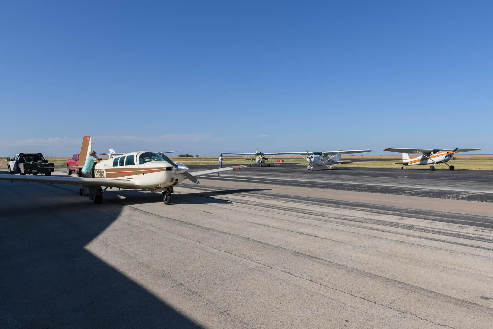Surprising activity at Stamford Airport