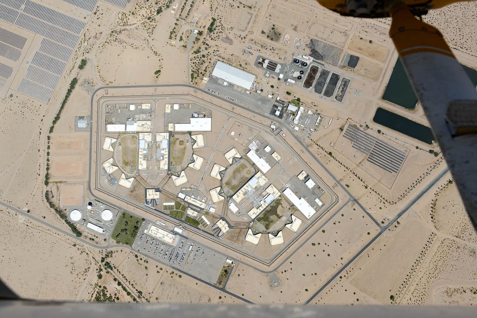 Ironwood State Prison, Blythe, CA