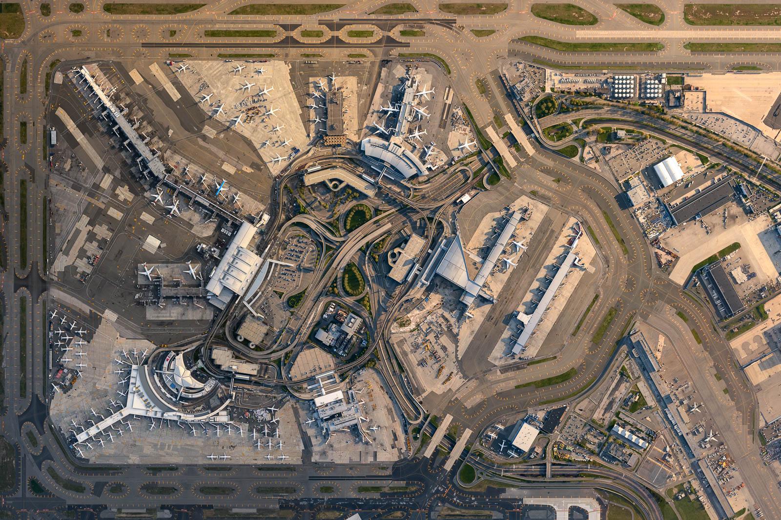JFK airport during the peak of COVID-19 crisis (May 2020)