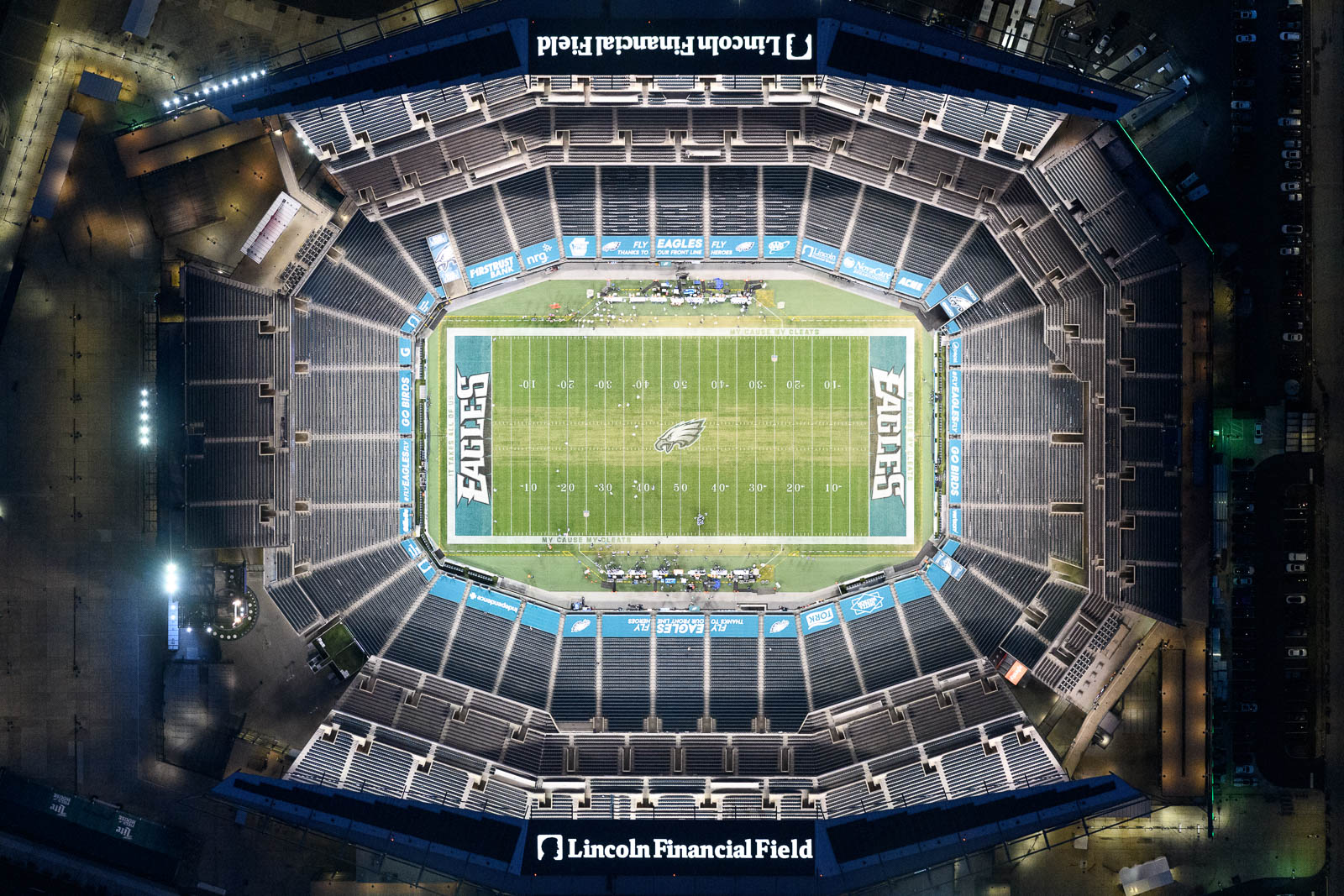 Eagles play Washington at the empty Lincoln Financial Field (Nov 11, 2020)