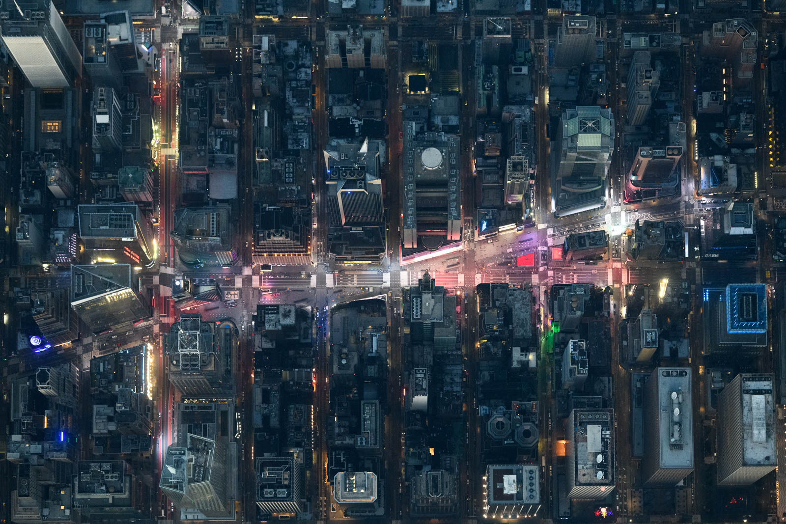 Empty Times Square as COVID-19 severely affects New York City tourism industry (October 2020)