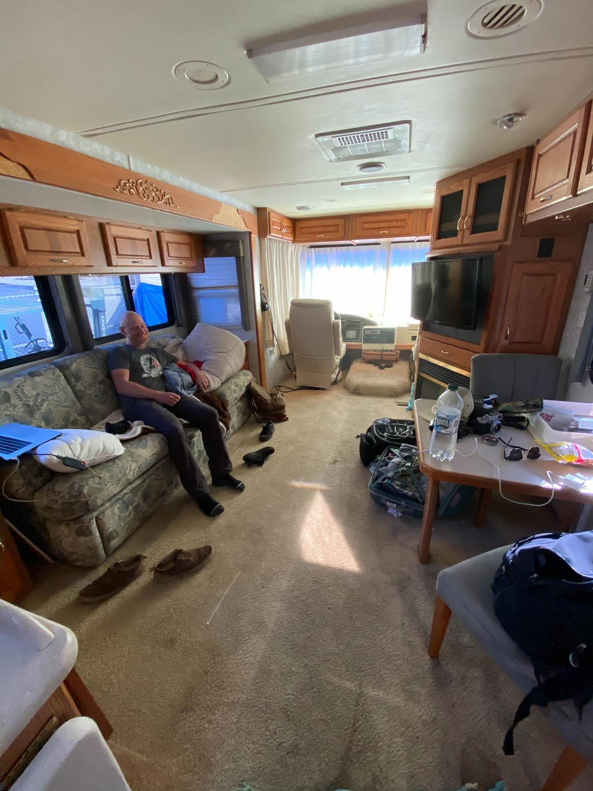 Camper life, not so bad