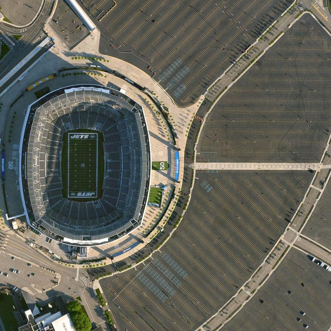 Empty MetLife Stadium during Coronavirus Pandemic (June 6, 2020)